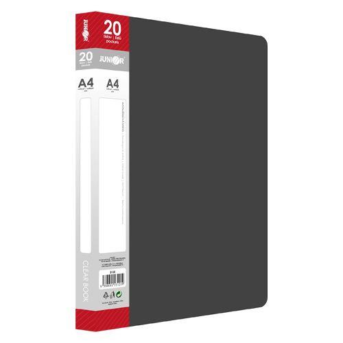 Katalogová kniha A4 / 20 listová, černá