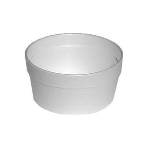 Termo miska kulatá bílá 340 ml, 25 ks