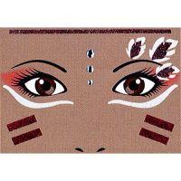 Nálepky na tvář Native American