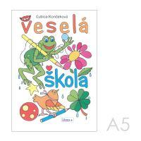 Omalovánka A5 Litera - Veselá škola