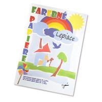 Složka barevného papíru / 8 - samolepící