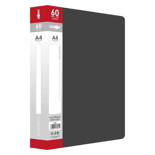 Katalogová kniha PP A4 / 60 listová, černá