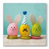 Obrousky PAW L 33X33cm Eggs Party