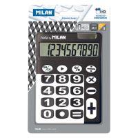 Kalkulačka MILAN 10-místní 150610 černá