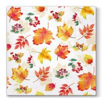 Ubrousky PAW L 33X33cm Falling Leaves