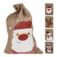 Pytel - vánoční/dárkové 50x35 cm, mix/1ks