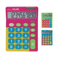 Kalkulačka MILAN stolní 10-místní Touch Mix