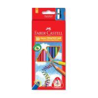 Pastelky Faber-Castell Grip Junior 10 barev