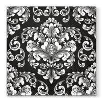 Ubrousky PAW L 33x33cm Beautiful Moments Black