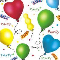 Ubrousky PAW L 33x33cm Party