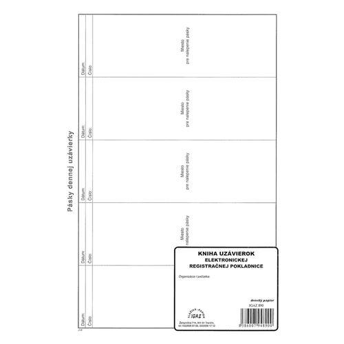 Kniha pásek elektronické RP 112 stran / 490 /