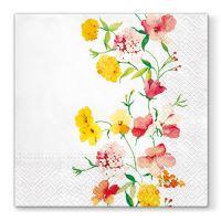 Obrousky PAW L 33x33cm Delicate Flowers