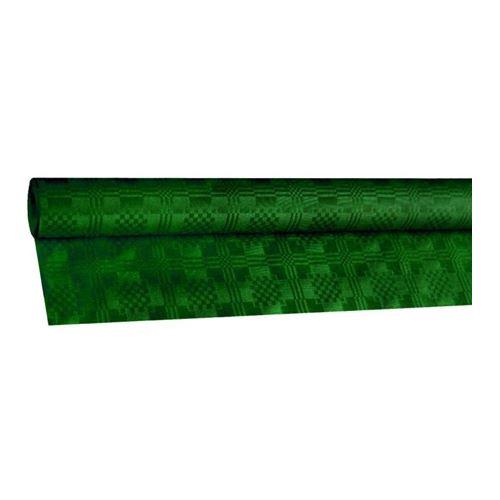 Obrus papírový rolovaný 8 x 1,20 m, tm. zelený