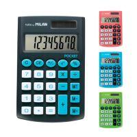 Kalkulačka MILAN kapesní 8-místní Touch