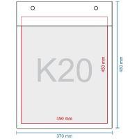 Obálka bublinková K20, 370 x 480 mm (350 x 470)