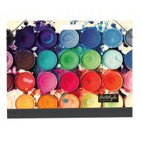 Deska školní Lamino A3 na výkresy Barvy