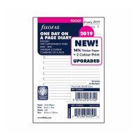 Náplň do diáře Filofax 2019 Kalendář, kapesní