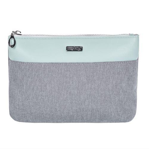 Kosmetická taška Grey Mentol - plochá
