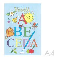 Omalovánka A4 Litera - Veselá abeceda